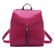 Spring And Summer Leather Female Package Oil Wax Skin Shoulder Bag Fashion National Trend Backpack Simple Female Package,E