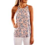 Women Blouse ,Women Summer Floral Vest Sleeveless Shirt Blouse Casual Tank Tops T-Shirt