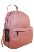 BORDERLINE - 100% Made in Italy - Real Leather Backpack - MANU