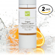 Vitamin C Serum for Face   Visibly Younger & Healthier Skin - 2-PACK - 20% + Hyaluronic Acid, Vitamin E & Ferulic Acid   Anti-Ageing, Anti-Wrinkle Spa Formula Helps Repair Sun Damage, Reduce Dark Spots