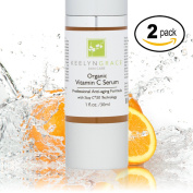 Vitamin C Serum for Face | Visibly Younger & Healthier Skin - 2-PACK - 20% + Hyaluronic Acid, Vitamin E & Ferulic Acid | Anti-Ageing, Anti-Wrinkle Spa Formula Helps Repair Sun Damage, Reduce Dark Spots
