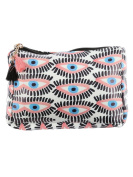 Eye Print Cosmetic Makeup Bag or Eyes Pouch Wallet