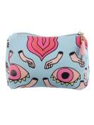 Eyes Hands Print Cosmetic Makeup Bag or Pouch Wallet