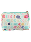 Arrows Print Cosmetic Makeup Bag or Chevron Pouch Wallet