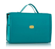 Joy Mangano Deluxe XL Better Beauty Case ~ Teal