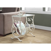 Hawthorne Ave White Accent Table