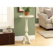 Hawthorne Ave Accent Table - Antique White Veneer
