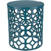 Surya Hale Blue Accent Table