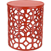 Surya Hale Red Accent Table