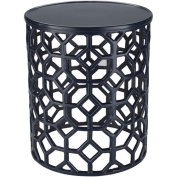 Surya Hale Black Accent Table