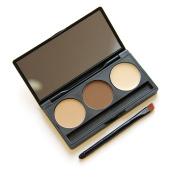 Lisa Colly Eyebrow Powder Palette Shading Brush Makeup eye shadow repair capacity Cosmetic Kit