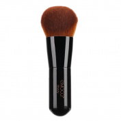 Foundation Kabuki Brush, Angled Face Makeup Brush for Blending Liquid Powder BB Cream Buffing Bronzer Make Up Portable Brush Cosmetic Beauty Tool