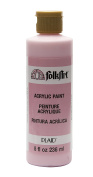 FolkArt Acrylic Paint in Assorted Colours (240ml), 821, Baby Pink