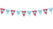 Dr.Luck Paper Party Decoration Bunting Garland Banner