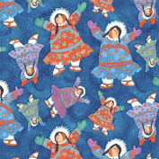Arctic Snow by Barbara Lavallee from Northcott 100% Cotton Quilt Fabric 20650 44