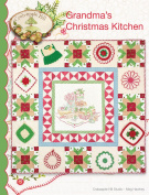 Grandma's Christmas Kitchen Embroidery Pattern by Meg Hawkey From Crabapple Hill Studio #1120cm - 120cm x 120cm
