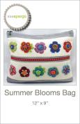 Summer Blooms Bag Pattern by Sue Spargo