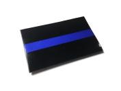 5.1cm x 2.5cm Thin blue line Reflective patch