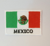 MEXICO National flag Embroidery Needlecraft Decor by sewing or ironing …