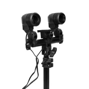 pixturize is. 00.0198.01 pixturize is. 00.0198.01 – Support Dual for Lamps E27 with Tripod Black