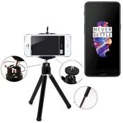 Smartphone Tripod / mobile stand / tripod for OnePlus 5, aluminium mobile phone holder - K-S-Trade