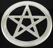 AzureGreen RPEN4 10cm . Pentagram Altar Tile