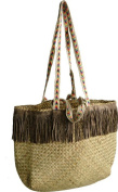 MT Canvas & Beach Tote Bag multi-coloured light brown/brown
