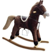 Supreme Baby Dusty Rocking Horse With Farmer Song/galloping Sounds/moving Mouth