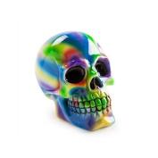 Tie Dye Skull Money Bank