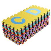 MultiWare Large 26 Pcs Alphabet Puzzle Numbers Eva Floor Mat Baby Room Jigsaw Mat Soft Foam Mat