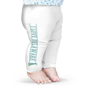Twisted Envy I Love Delaware State Flag Baby Funny Leggings Trousers