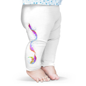 Twisted Envy Bright Feathers Baby Novelty Leggings Trousers
