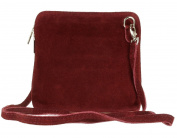 SALE SALE NEW Womens Small Genuine Suede Cross Body Shoulder Bag Strap Real Italian Designer