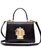 LA'FESTIN Ladies Crossbody Handbags Lizard Pattern Leather Cross Shoulder Bag for Women Tote Purse