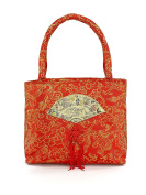Chinese Red Silk Bag Orange