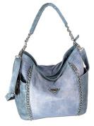 Jennifer Jones Women's Shoulder Bag Jeans-Blue