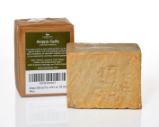 "Olive Oil Soap ""Aleppo"" 95% Oliveoil & 5% Laurel Oil, 200 g - for skin, hair, body and face natural soap"