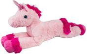 BRUBAKER XXL Plush Unicorn 110cm Pink