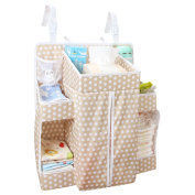 Biubee Baby Nappy Organiser-52*44*43 cm Changing Table Hanging Organisation Nappy Caddy Storage for Nursery Essentials