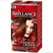 Schwarzkopf Brillance 904 Fashion Lights Goldeneskupfer 143ml
