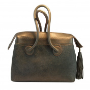 Quarzazate Women's Top-Handle Bag grey charcoal