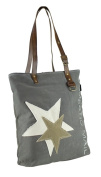 Sunsa Women's Tote Bag grey khaki