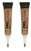 L.A. Girl Pro Conceal HD GWluFi Concealer, 10ml, Toffee