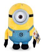 Despicable Me Huggable Plush Minion Carl Toy Figure