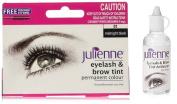 Julienne Eyelash & Brow Midnight Black Tint with tint activator