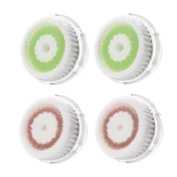 GreenInsync Replacement Brush Head for Deep Pore Cleansing, Pack of 4
