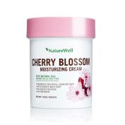 Naturewell Cherry Blossom Moisturising Cream Dye Free, with Natural Oil 470ml ,