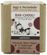 Biggs & Featherbelle Soap Bar, Bar-Chouli, 100ml