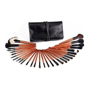 30 pcs Professional Make Up Brush Set with Black Case by NORBERTBERKELEY