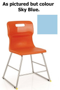 Titan T60 School Lab High Chair Size 3 Age 5-7 Years Sky Blue MIN ORDER 6